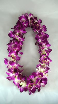 Orchid Lei – Double