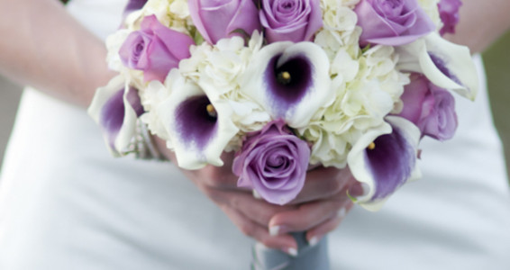 Calla Lily Hydrangea And Berry Bouquet