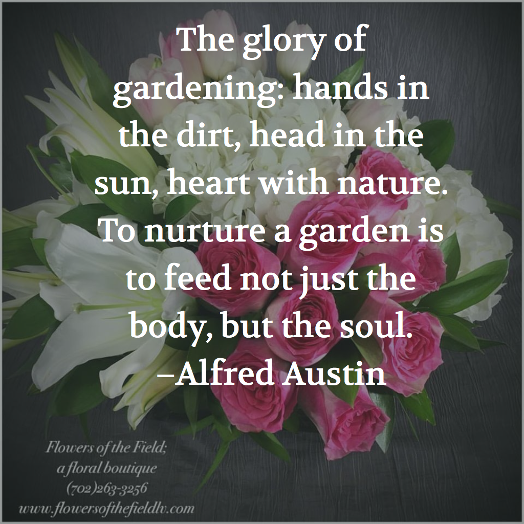 7 Lovely Quotes About Flowers And Gardens Flowers Of The Field Las